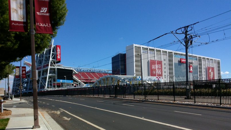 SF 49ers at Levi Stadium